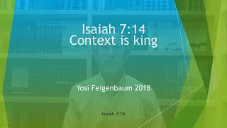 Isaiah 7 14   Context Is King