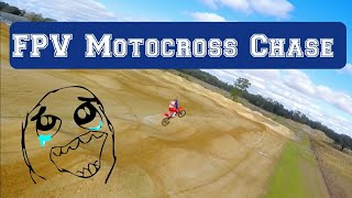 FPV Motocross Chase #Florida #Dadecity #dirtbike #racedrone #dji #Brucewilson
