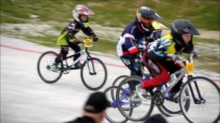 (64) ФРАНЦИЯ. Соревнования по BMX. (Велосоревнование)   У нас 6 место.