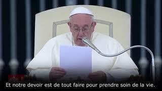 Paroles du Pape pour Vincent Lambert et Alfie Evans