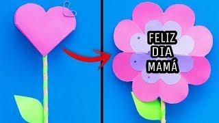 Manualidades Faciles Para Regalar El Dia De Las Madres.Descargar Mp3 De Como Hacer Tarjetas Pop Up De Flores Diy Regalos