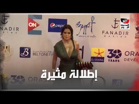 إطلالة مثيرة لـ«رانيا يوسف» في مهرجان الجونة