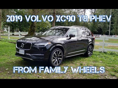 2019 Volvo XC90 T8 PHEV from Family Wheels