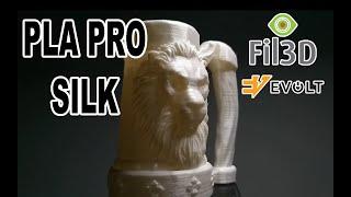 PLA Pro SILK Natural da Fil3D