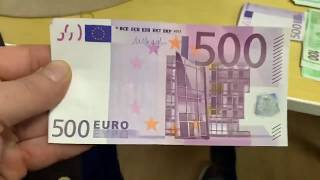 500 euro note,Last time you'll ever see one