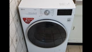 Waschmaschine von LG (Direkt Drive), Laugenpumpe ausbauen. LG remove washing machine drain pump.