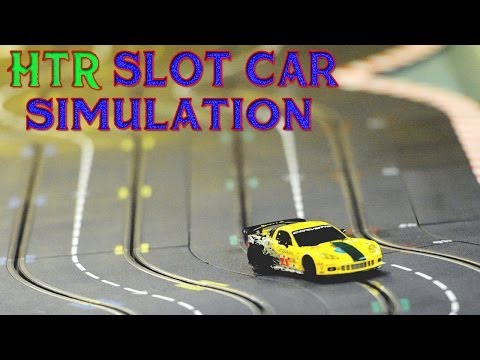 HTR+ Slot Car Simulation – 10 Tracks Gameplay PC HD