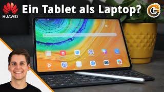 Huawei Matepad Pro: Konkurrenz fürs iPad Pro & gute Laptop Alternative? - Unboxing