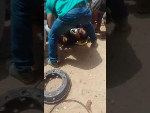 Homem morre após pneu de caminhão estourar em Barroquinha