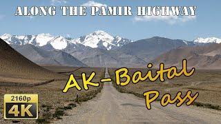 Crossing the Ak-Baital Pass - Tajikistan 4K Travel Channel