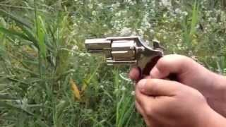 Shooting Colt .38 Detective Special Nickel Plated