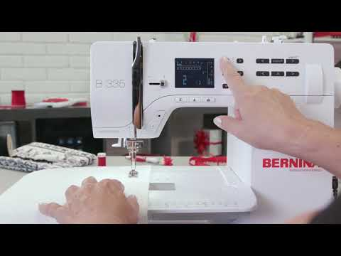 Sewing with the BERNINA 325: Adjusting stitch width, stitch length, thread tension etc.