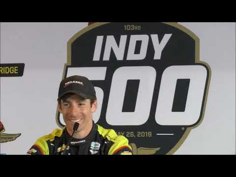 2019 Indy 500 winner post-race Q&A