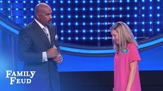 Check out this nail biting Fast Money!!! | Family Feud - dooclip.me