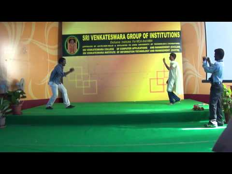 Sri Venkateswara college of computer application and management(SVCCAM), Coimbatore. welcome party of 2011, performance by Maya and Kathir MCA.   Uploaded by kathir526 on Sep 24, 2011   Sri Venkateswara College of Computer Applications Management, Coimbat