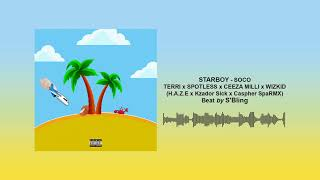 SOCO REMIX   H.a.z.e  Kzador $ick  Caspher