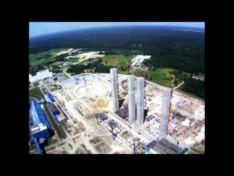 Rok na budowie elektrowni w Opolu w dwie minuty