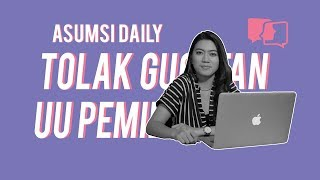 Tolak Gugatan UU Pemilu - Asumsi Daily