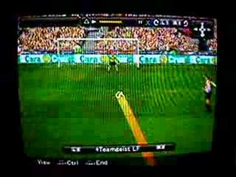 Winning Eleven 2008 Goal (Brocchi, AC Milan)