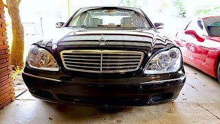 S600 Fuel Pump - Air Bag - Tail Lights - Headlights Replacement