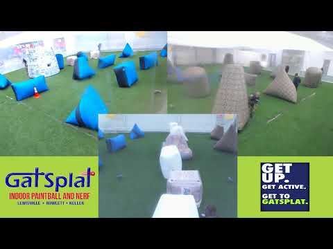 Watch Live Paintball at GatSplat in North Texas! Live Stream Saturday 9.14.19