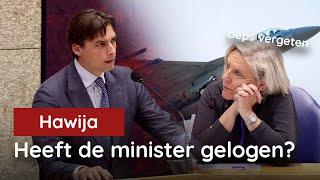 Heeft minister Bijleveld gelogen?