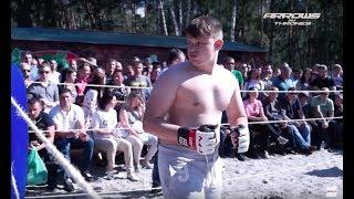 ТОЛСТЫЙ ШКОЛЬНИК в ринге с Бойцом ММА