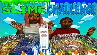 Swagg Mom And Swaggboi Slime Challenge