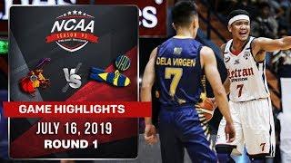 CSJL Vs. JRU   July 16, 2019 | Game Highlights | NCAA 95 MB