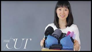 Marie Kondo Folds a Perfect Underwear Drawer