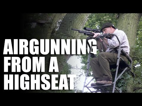 Tips for shooting air rifles from a high seat