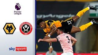 Sheffield erster Absteiger | Wolverhampton - Sheffield United 1:0 | Highlights - Premier League