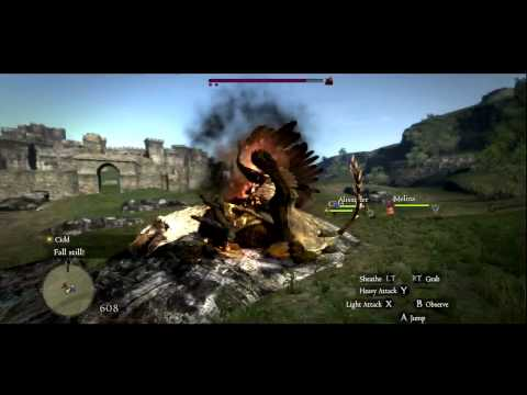 Dragon's Dogma's Gameplay Footage Looks Promising