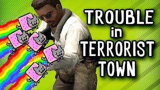 NYAN GUN + SINGING - Trouble In Terrorist Town Gmod