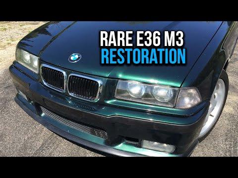 Restoring a Super RARE BMW E36 M3