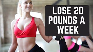 How To Lose 20 Pounds In 1 Week without exercise