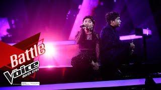 พิม VS ซาสี่ - อยากรู้หัวใจตัวเอง - Battle - The Voice Thailand 2019 - 9 Dec 2019