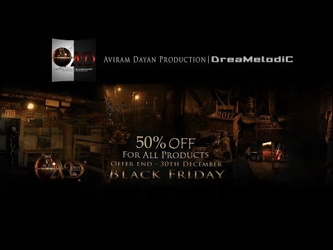 Aviram Dayan Production | DreaMelodiC 50% off - *Black Friday*