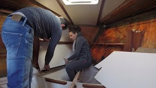 Sailing Jabuka - Insulating The V-berth Part 2