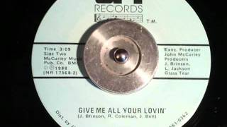 Rob C - Give me all your lovin