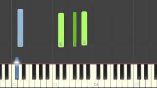 gnash - i hate u, i love u ft. olivia o'brien piano synthesia tutorial