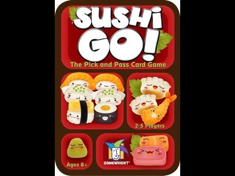 Bower's Game Corner: Sushi Go! Review
