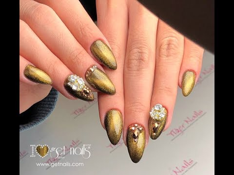 Salon Nails Jewelry Cat Eye Get Nails