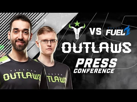 Houston Outlaws Press Conference Stage 3 Week 3 (Dallas Fuel)