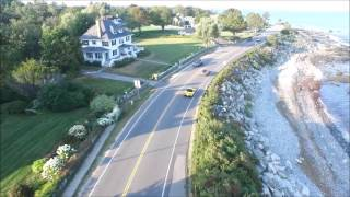 Seacoast Exotic Car Rentals Aerial Footage of Guided Tour