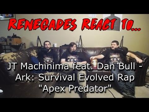 "Renegades React to... JT Machinima feat. Dan Bull - Ark: Survival Evolved Rap ""Apex Predator"""