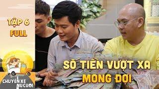 Chuyến xe nụ cười Tập 6 Full: Color Man Khương Dừa xúc động khi quyên góp được số tiền vượt mong đợi