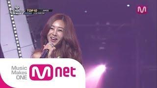 Mnet [엠카운트다운] Ep.380: 지나(G.NA) - 예쁜 속옷(G.Na's Secret) @M COUNTDOWN 2014.06.12
