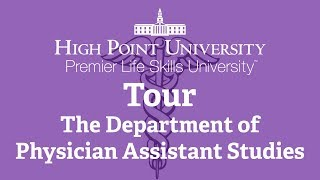 PA Program Overview | High Point University | High Point, NC