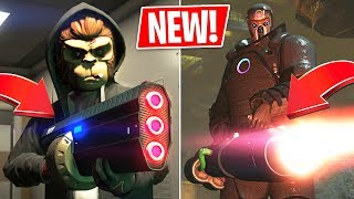 GTA 5 *NEW* Unholy Hellbringer & Widowmaker Weapons Update!! (GTA 5 Online DLC)